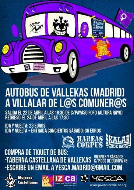 Autobuses desde Madrid