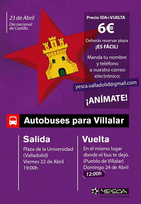 Autobuses desde Valladolid